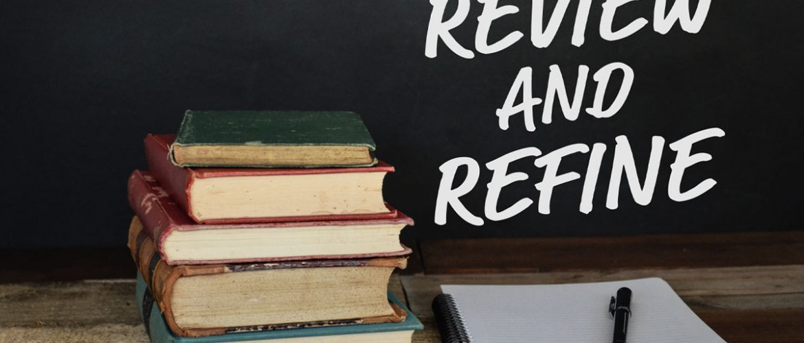 review and refine