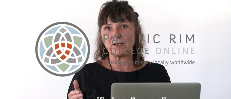 Dr. Martha Lucas at Pacific Rim